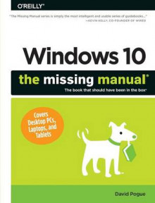 Windows 10: The Missing Manual av David Pogue (Heftet)