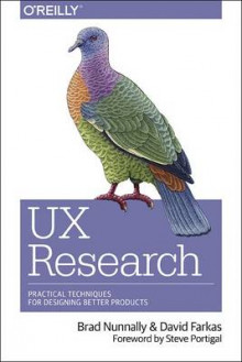 UX Research av Brad Nunnally og David Farkas (Heftet)