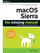 Omslag - Macos Sierra: The Missing Manual