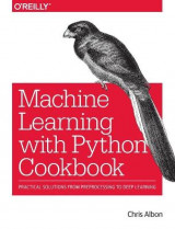 Omslag - Machine Learning with Python Cookbook