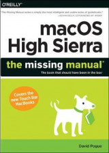 Omslag - macOS High Sierra: The Missing Manual