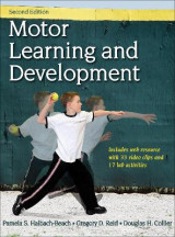 Omslag - Motor Learning and Development 2nd Edition With Web Resource
