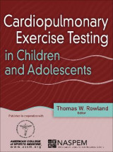 Omslag - Cardiopulmonary Exercise Testing in Children and Adolescents
