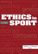 Omslag - Ethics in Sport 3rd Edition