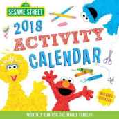 2018 Sesame Street Kid's Activity Wall Calendar av Sesame Workshop (Kalender)