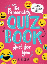 Omslag - The Personality Quiz Book Just for You: Learn All About You!