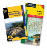 Omslag - Best Easy Day Hiking Guide and Trail Map Bundle: Acadia National Park