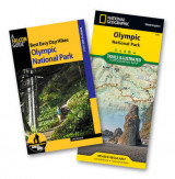 Omslag - Best Easy Day Hiking Guide and Trail Map Bundle: Olympic National Park