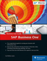 Omslag - SAP Business One: Business User Guide