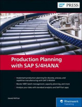 Omslag - Production Planning with SAP S/4HANA
