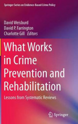 Omslag - What Works in Crime Prevention and Rehabilitation 2016