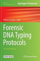 Omslag - Forensic DNA Typing Protocols 2016