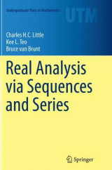Omslag - Real Analysis via Sequences and Series
