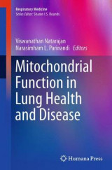 Omslag - Mitochondrial Function in Lung Health and Disease