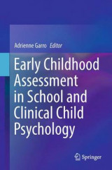 Omslag - Early Childhood Assessment in School and Clinical Child Psychology 2016