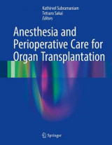 Omslag - Anesthesia and Perioperative Care for Organ Transplantation 2016