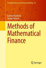 Omslag - Methods of Mathematical Finance 1998