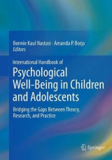Omslag - International Handbook of Psychological Well-Being in Children and Adolescents