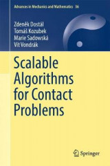 Omslag - Scalable Algorithms for Contact Problems 2016
