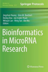 Omslag - Bioinformatics in MicroRNA Research