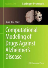 Omslag - Computational Modeling of Drugs Against Alzheimer's Disease