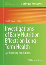 Omslag - Investigations of Early Nutrition Effects on Long-Term Health