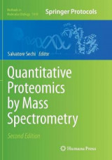 Omslag - Quantitative Proteomics by Mass Spectrometry