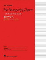 Omslag - Guitar Tablature Manuscript Paper - Wire-Bound