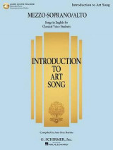 Omslag - Introduction to Art Song for Mezzo-Soprano/Alto