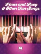 Omslag - Linus and Lucy & Other Fun Songs Piano Vocal & Guitar Songbook