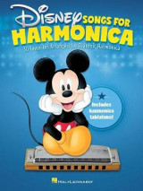 Omslag - Disney Songs for Harmonica Diatonic Harmonica Book