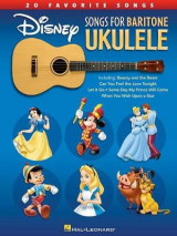 Omslag - Disney Songs For Baritone Ukulele - 20 Favorite Songs