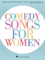 Omslag - Comedy Songs for Women Voice Book/Audio Online