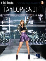 Omslag - Music Minus One Swift Taylor Sing 8 Favorites Voice