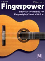 Omslag - FINGERPOWER PRIMER LEVEL EFFECTIVE TECHNIQUE FOR FINGERSTYLE GTR BOOK