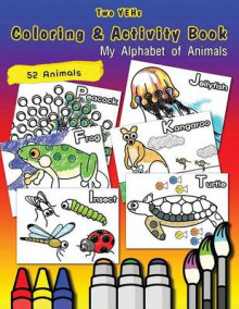 Two Yehs Coloring & Activity Book - Animal av YoungBin Kim (Heftet)