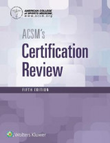 Omslag - ACSM's Certification Review