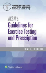 Omslag - Acsm's Guidelines for Exercise Testing and Prescription