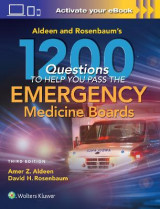 Omslag - Aldeen and Rosenbaum's 1200 Questions to Help You Pass the Emergency Medicine Boards