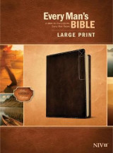 Omslag - Every Man's Bible NIV, Large Print, Deluxe Explorer Edition