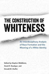 Omslag - The Construction of Whiteness