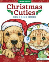 Omslag - Christmas Cuties Coloring Book