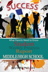 Omslag - What Parents Need to Know Student Weekly Progress Report Middle/High School