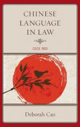 Omslag - Chinese Language in Law