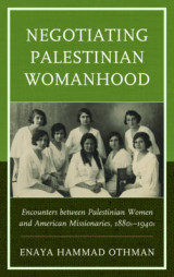 Omslag - Negotiating Palestinian Womanhood