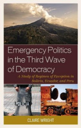 Omslag - Emergency Politics in the Third Wave of Democracy