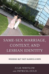 Omslag - Same-Sex Marriage, Context, and Lesbian Identity