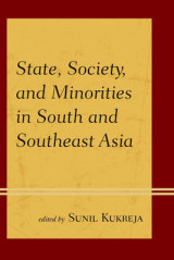 Omslag - State, Society, and Minorities in South and Southeast Asia