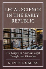 Omslag - Legal Science in the Early Republic