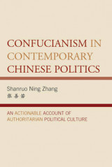 Omslag - Confucianism in Contemporary Chinese Politics
